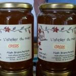 Le miel de cassis fraîchement récolté !