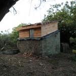 Cabane en bois au final